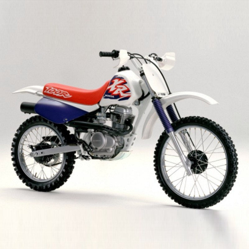 Honda Xr80r  Xr100r - Service Manual
