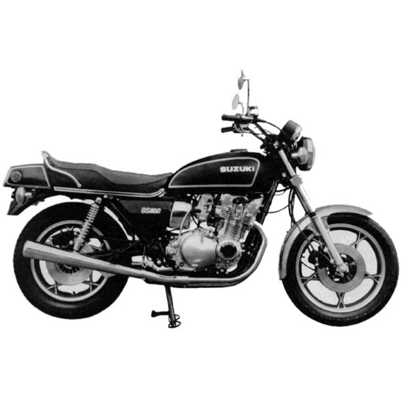 Suzuki Gs850g - Service Manual    Repair Manual