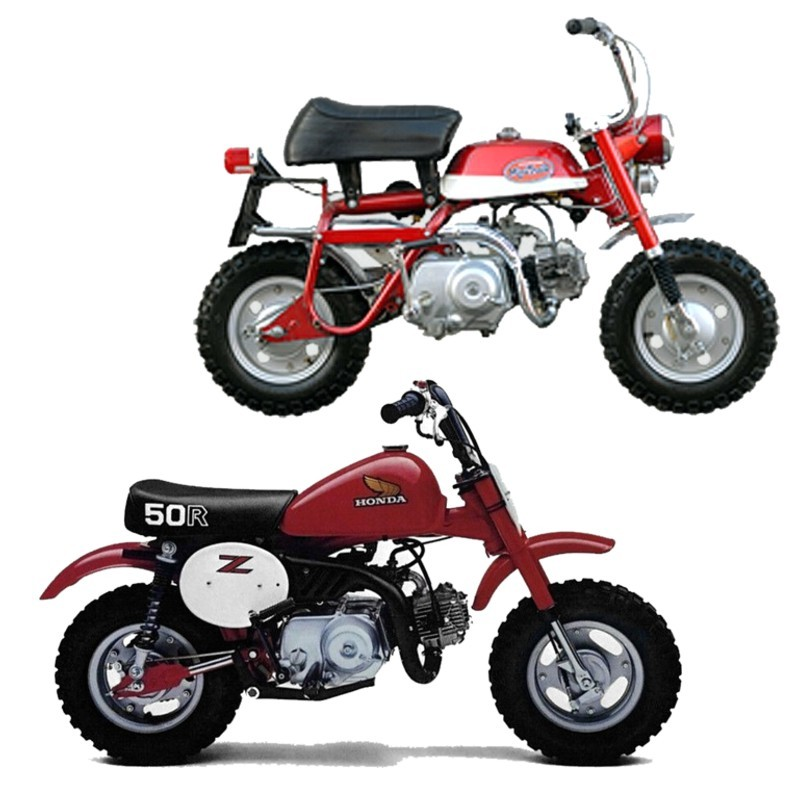 Honda Z50 - Service Manual    Repair Manual