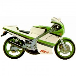 Kawasaki KR-1 - Service Manual / Repair Manual - Wiring Diagrams