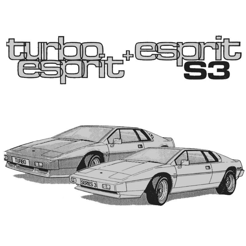 Lotus Esprit  1980-1987    Repair Manual