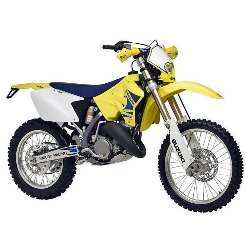 Suzuki Rm125  2004-2007  - Service Manual    Repair Manual