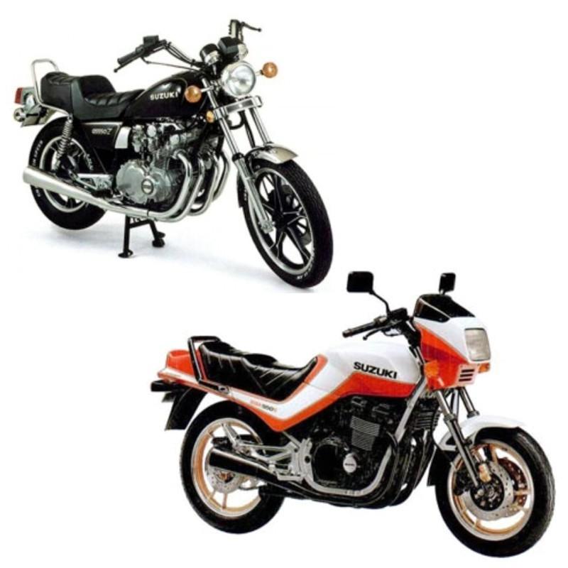 Suzuki Gs550 - Service Manual    Repair Manual
