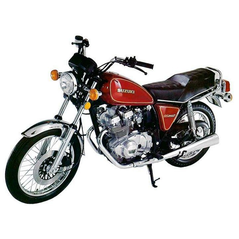 Suzuki Gs250  Gs300 - Service Manual - Wiring Diagrams - Parts Catalogue