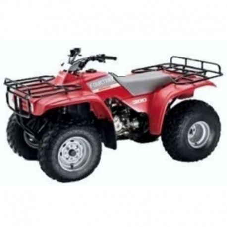 Honda TRX300, TRX300FW Fourtrax (1988-2000) - Service Manual - Wiring Diagrams - Owners Manual