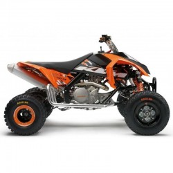 KTM 450 SX ATV, 505 SX ATV - Service Manual / Repair Manual - Wiring Diagrams - Owners Manual