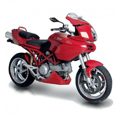 Ducati Multistrada 1000 - Service Manual - Manuel de Reparation - Manuale di Officina - Reparaturanleitung - Wiring Information