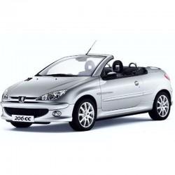 Peugeot 206 CC (Cabriolet) - Manuel de Reparation / Atelier - Schemas de Cablage Electrique