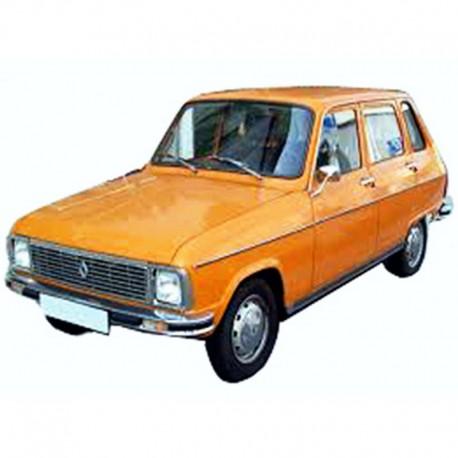 Renault 6 Manual de Taller, de Uso y Despiece