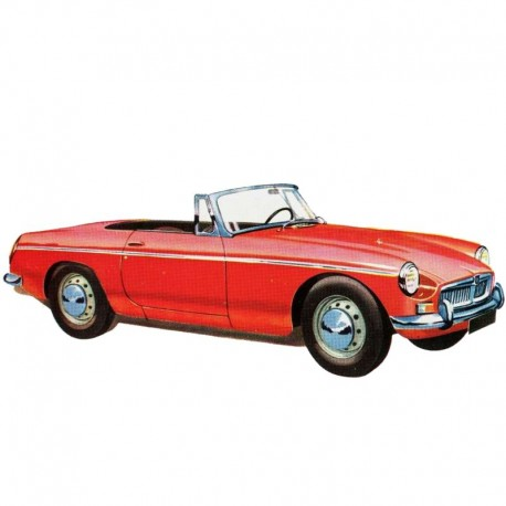 MG MGB - Service Manual / Repair Manual - Wiring Diagrams