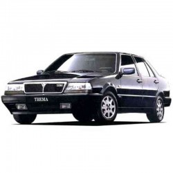 Lancia Thema 8.32 - Engine Service Manual - Wiring Diagrams