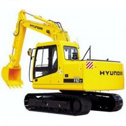 Hyundai Crawler Excavator R110-7 - Service Manual - Operators Manual - Wiring Diagrams
