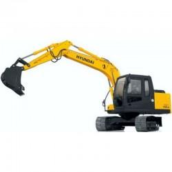 Hyundai Crawler Excavator R110-7A - Service Manual - Operators Manual - Wiring Diagrams