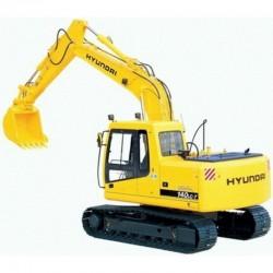 Hyundai Crawler Excavator R140LC-7 - Service Manual - Operators Manual - Wiring Diagrams