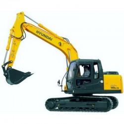 Hyundai Crawler Excavator R140LC-7A - Service Manual - Operators Manual - Wiring Diagrams