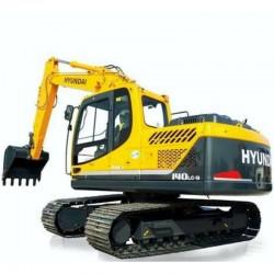 Hyundai Crawler Excavator R140LC-9 - Service Manual - Operators Manual - Wiring Diagrams