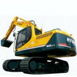 Hyundai Crawler Excavator R160LC-9, R180LC-9 - Service Manual - Operators Manual - Wiring Diagrams