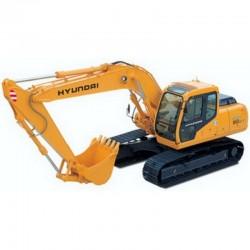 Hyundai Crawler Excavator R160LC-3 - Service Manual - Operators Manual - Wiring Diagrams