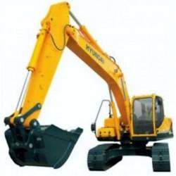 Hyundai Crawler Excavator R160LC-7 - Service Manual - Operators Manual - Wiring Diagrams