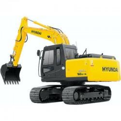 Hyundai Crawler Excavator R160LC-7A - Service Manual - Operators Manual - Wiring Diagrams