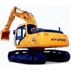 Hyundai Crawler Excavator R180LC-3 - Service Manual - Operators Manual - Wiring Diagrams