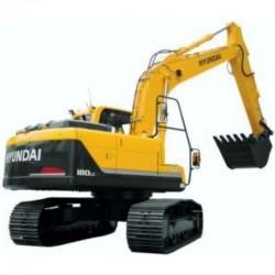 Hyundai Crawler Excavator R180LC-7 - Service Manual - Operators Manual - Wiring Diagrams