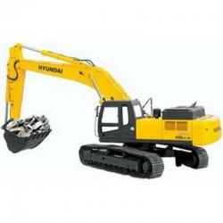 Hyundai Crawler Excavator R450LC-7A, 500LC-7A - Service Manual - Operators Manual - Wiring Diagrams
