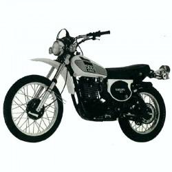 Yamaha XT500 - Service Manual, Manuel de Reparation, Reparaturanleitung