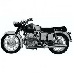 Moto Guzzi V7, V7 Sport, V7 Special - Service Manual and Parts Manual