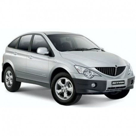 Ssangyong Actyon - Service Manual - Wiring Diagram - Owners Manual