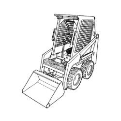 Bobcat 450, 453 Series - Service Manual / Repair Manual - Wiring Diagrams