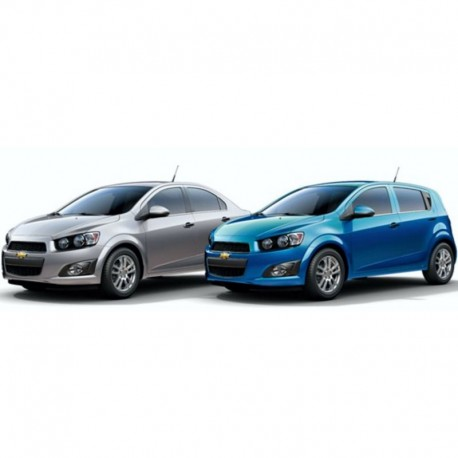 Chevrolet Sonic (2012-2014) - Electrical Wiring Diagrams / Electrical Circuits