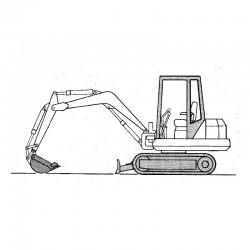 Bobcat Excavator (56 76 100 116 130 Series)