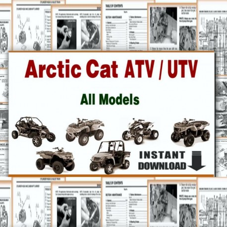 Arctic Cat (1996-2012 Models) - Parts  Manuals