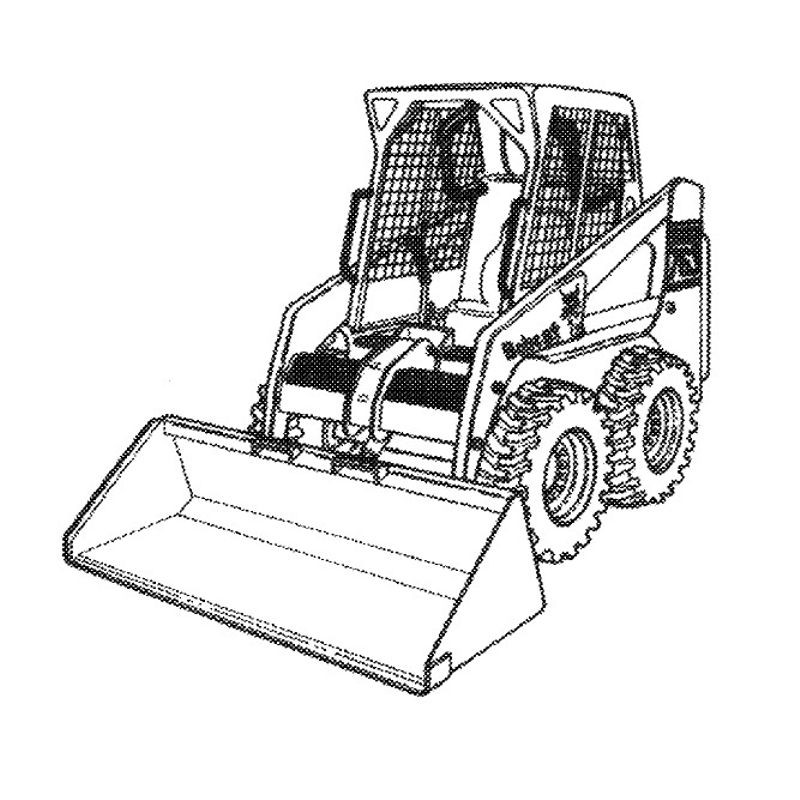 763 Bobcat Hydraulic Drive Part Diagram