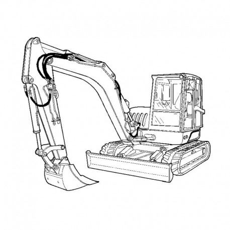 Bobcat Crawler Excavator (ZX75 ZX125 Series)