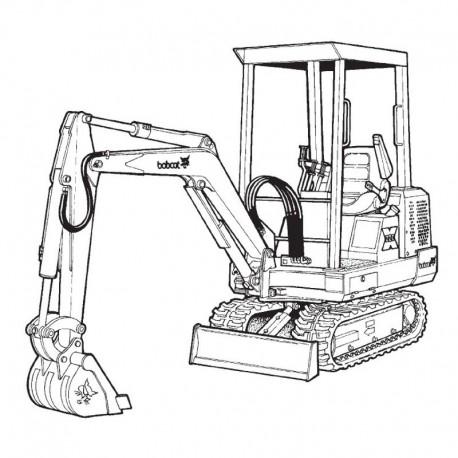 Bobcat Excavator (220 225 231 Series)