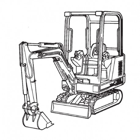 Bobcat Excavator (320 325 331 Series)
