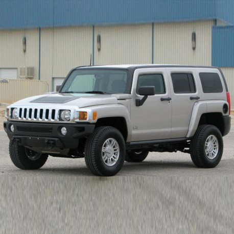 Hummer H3 - Service Manual - Wiring Diagram - Owners Manual