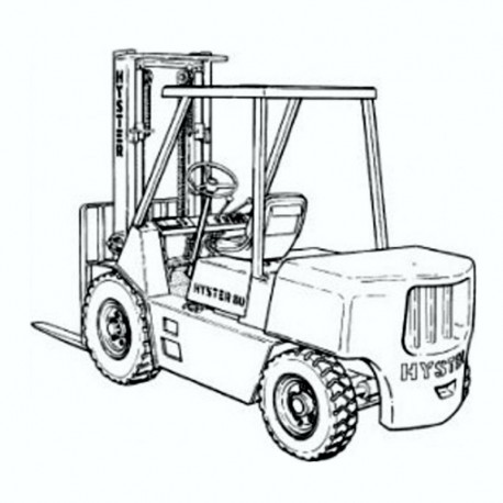 Hyster H135 - 155XL - Service Manual - Wiring Information