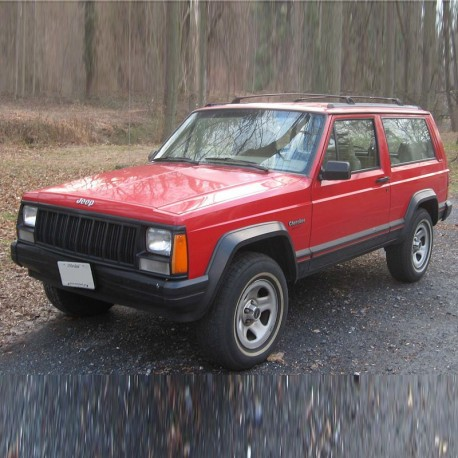 Jeep Cherokee XJ - Service Manual / Repair Manual - Parts Catalogue