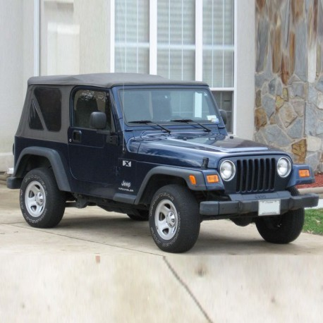 Jeep Wrangler TJ Spare Parts Catalogue
