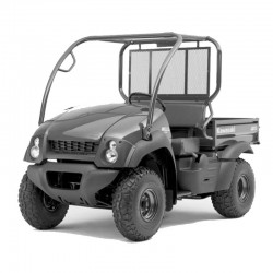 Kawasaki Mule 600-610 4x4 Service Manual / Repair Manual