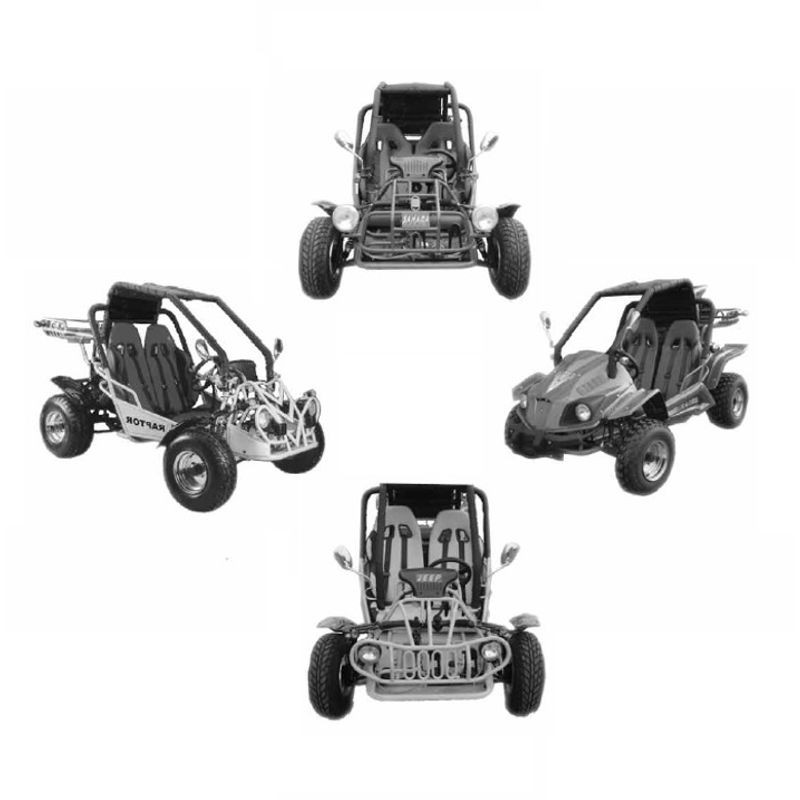 Kinroad 250 Buggy - Owners Manual - Parts Manual