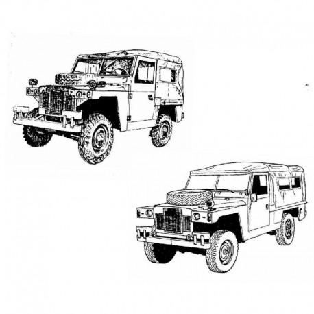Land Rover Santana 88-109 - Catalogo de Piezas de Repuesto