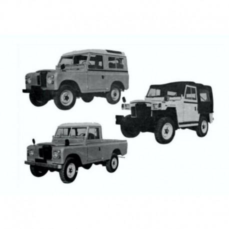 Land Rover Santana Serie III Manual de Taller / Manual de Reparacion