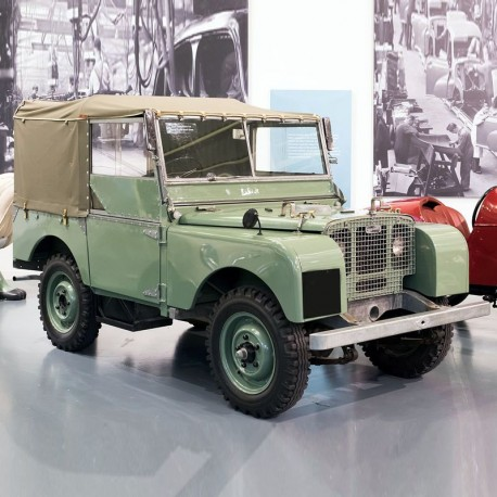 Land Rover Series I Operation Manual / Owners Manual