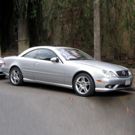 Mercedes CL-Class (CL215) - Service Information & Owner's Manual