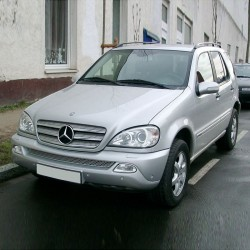 Mercedes M-Class (A163) - Service Information & Owner's Manual