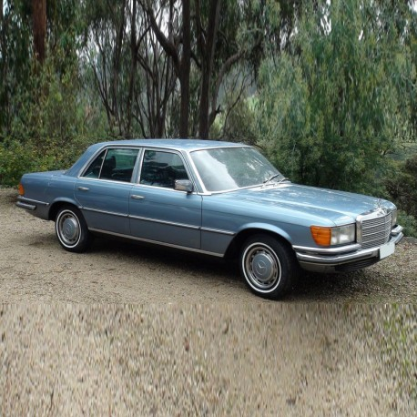 Mercedes S-Class (W116) - Service Manual / Repair Manual - Owners Manual